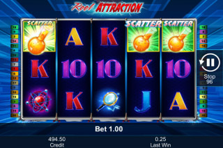 Reel Attraction Mobile Slot Scatters