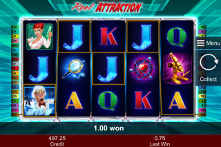 Reel Attraction Mobile Slot Free Spins