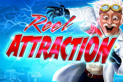 Reel Attraction Mobile Slot Logo