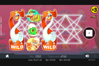 Scruffy Duck Mobile Slot Expanding Wilds