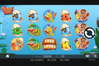 Scruffy Duck Mobile Slot Game
