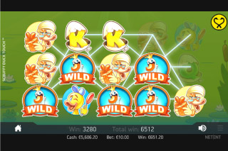 Scruffy Duck Mobile Slot Wilds