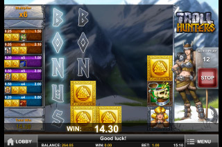 Troll Hunters Mobile Slot Bonus Reveal