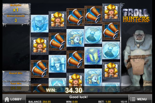Troll Hunters Mobile Slot Free Spins Win