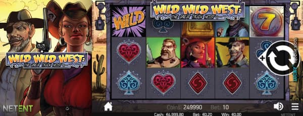 NetEnt Wild Wild West Touch Slot