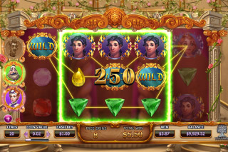 Beauty And The Beast Mobile Slot Bonus
