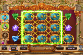 Beauty And The Beast Mobile Slot Wilds