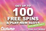 Get Casumo Free Spins & Play New Mobile Slots This Week Only