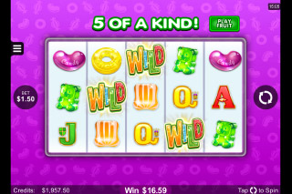 Fruit vs Candy Mobile Slot Candy Game