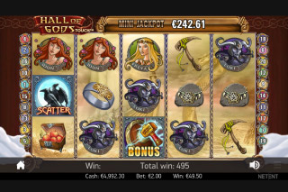 Hall of Gods Mobile Slot Free Spins