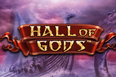 Hall of Gods Mobile Slot Logo