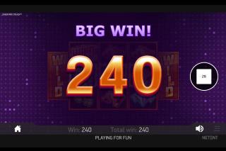 Joker Pro Mobile Slot Big Win