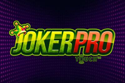 Joker Pro Touch Mobile Slot Logo