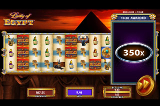 Lady of Egypt Mobile Slot 10th Reel Jackpot