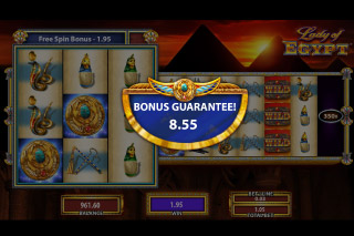 Lady of Egypt Mobile Slot Bonus Gurantee