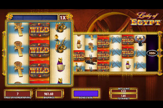 Lady of Egypt Mobile Slot Free Spins