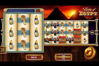Lady of Egypt Mobile Slot Game
