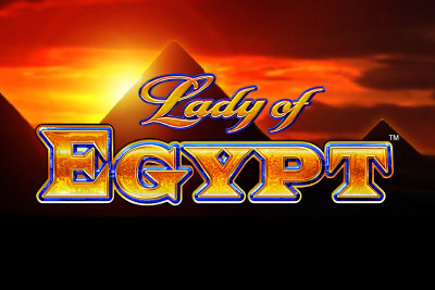 Lady of Egypt Mobile Slot Logo