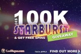 LeoVegas Mobile Casino 100K Starburst Giveaway & Free Spins