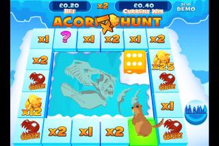 Mammoth Money Mobile Slot Acorn Hunt Bonus Game