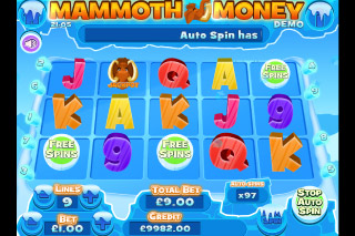 Mammoth Money Mobile Slot Game