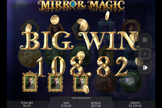 Mirror Magic Mobile Slot Free Spins Big Win