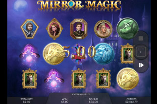 Mirror Magic Mobile Slot Free Spins Bonus