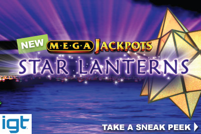 New IGT MegaJackpots Star Lanterns Slot Coming In February