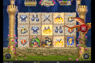 Prissy Princess Mobile Slot Fire Wild Bonus