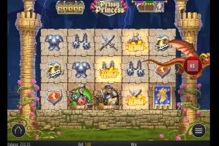 Prissy Princess Mobile Slot Fire Wild Bonus