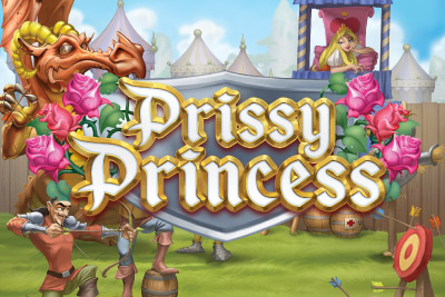 Prissy Princess Mobile Slot Logo