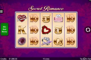 Secret Romance Mobile Slot Game