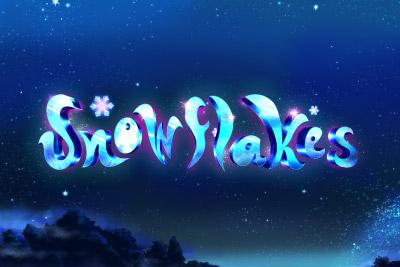 Snowflakes Mobile Slot Logo