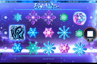 Snowflakes Mobile Slot Bonus Feature