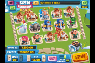 Spin Kingdom Mobile Slot Game