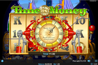 Time Is Money Mobile Slot Free Spins Multiplier