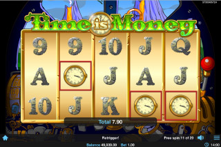 Time Is Money Mobile Slot Free Spins