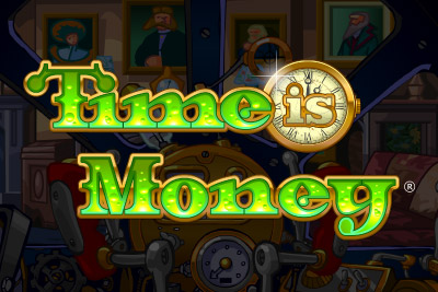 Time Is Money Mobile Slot Logo
