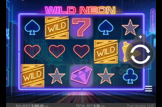 Wild Neon Mobile Slot Game