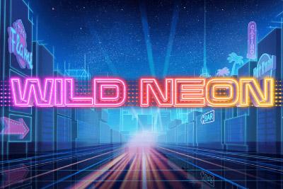 Wild Neon Mobile Slot Logo