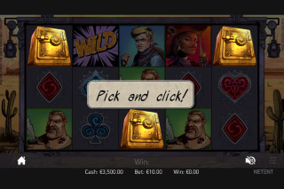 Wild Wild West Mobile Slot Pick N Click