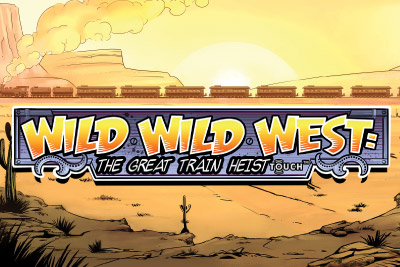 Wild Wild West Mobile Slot Logo