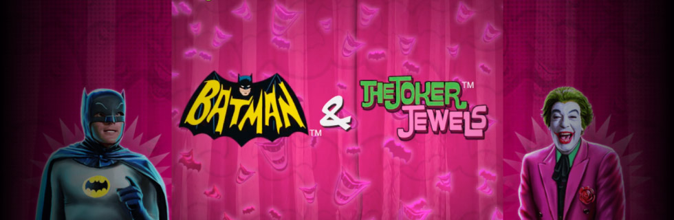 Batman & The Joker Jewels