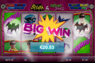 Batman & The Joker Jewels Mobile Slot Big Win