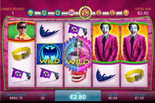 Batman & The Joker Jewels Mobile Slot Bonus
