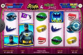 Batman & The Joker Jewels Mobile Slot Machine