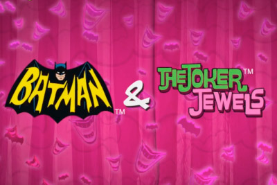 Batman & The Joker Jewels Mobile Slot Logo