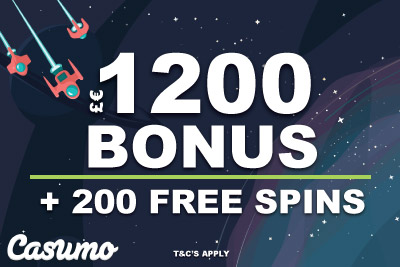 Casumo Casino Bonus & Free Spins Welcome