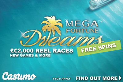 Get Your Mega Fortune Dreams Free Spins