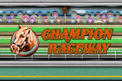 Champion Raceway Mobile Slot Logo